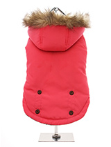 Salmon Pink Alpine Coat - Protection and performance fuse in this Salmon Pink Alpine Coat from Urban Pup. Lightweight but incredibly warm and snug to keep the cold out and the heat in. Combine that with a choice of three great colours, a perfect fit plus great quality and you have a coat that is second to none. The hood is t...